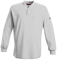 FIREWEAR® Flame Resistant Long Sleeve Henley Shirt